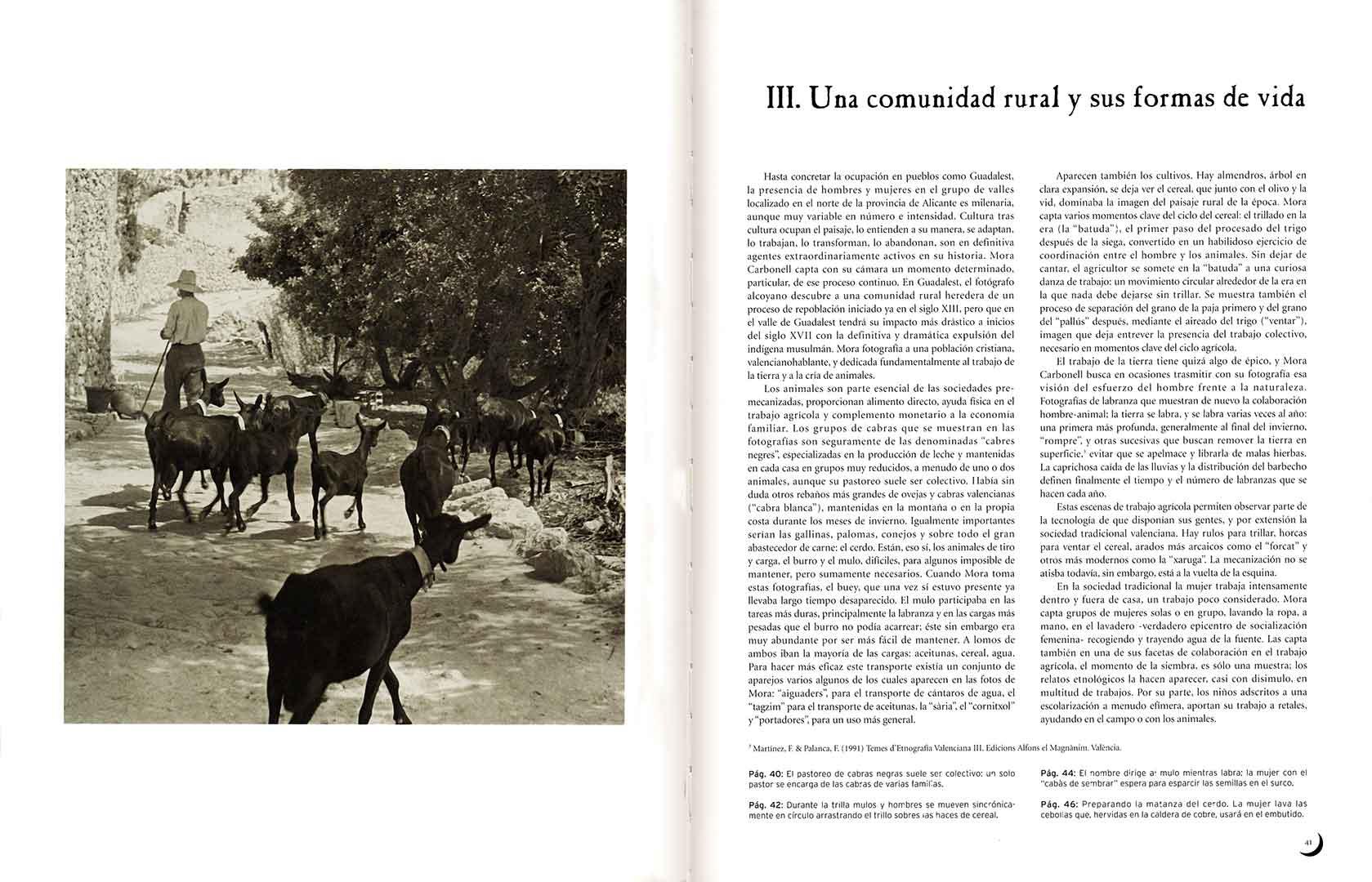 Guadalest vist por página española Mora Carbonell