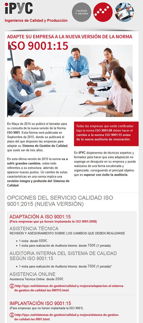 IPYC mailing